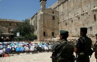 """""""أوقاف الخليل"""" تقرر إغلاق المساجد يوم الجمعة وأداء الصلاة في """"الحرم الإبراهيمي"""""""