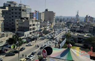 بلدية غزة تشرع بتنظيم مواقف السيارات في منطقة الجندي المجهول