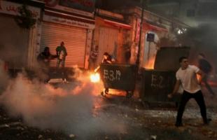 إصابات بالإختناق خلال مواجهات اندلعت مع قوات الاحتلال في رام الله