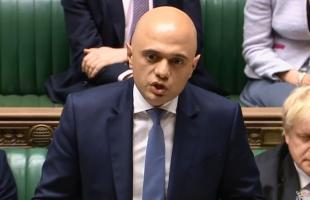 """وزير الخزانة البريطاني السابق """"جاويد"""" يعلن عجزه عن دعم مشروع قانون السوق الداخلية"""