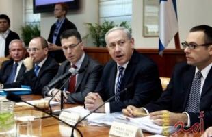 """الكابينت الإسرائيلي يصادق على ميزانية لتنفيذ """"مشروع أمني حساس"""""""