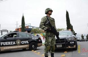 مقتل 4 أشخاص وإصابة آخرين إثر إطلاق نار في المكسيك