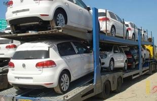 سلطات الاحتلال تسمح بإدخال 53 سيارة حديثة لقطاع غزة
