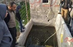 مصرع مواطنيْن جراء انهيار بئر مياه في رفح