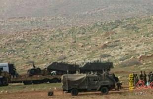 جيش الاحتلال يخلي العائلات من حمصه في الاغوار