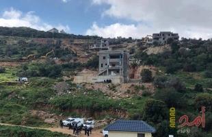 سلطات الاحتلال تهدم منشأة تجارية بالقدس