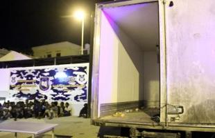 إفشال تهريب 12 طن مسحوق غسيل إسرائيلي مهرب في مدينة نابلس