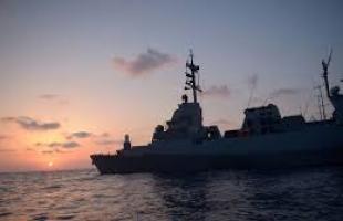 زوارق الاحتلال تطلق النار تجاه قارب صيد قبالة شواطئ غزة
