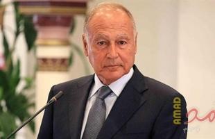 أبو الغيط يجدد رفض الجامعة العربية للتدخلات العسكرية الأجنبية في الأزمة الليبية