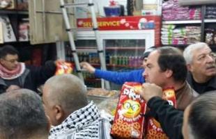 اتحاد المستهلك يدعو الحكومة والفصائل لتبني حملة مقاطعة منتجات الاحتلال