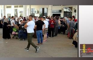 سلطات الاحتلال تمنع (12) مواطناً من السفر عبر معبر الكرامة