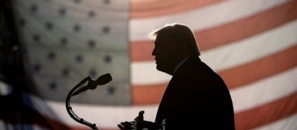 """أول خطاب لــ """"ترامب"""" منذ مغادرته البيت الأبيض"""