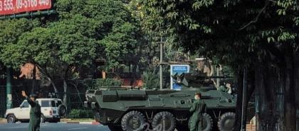 شرطة ميانمار تشن حملة على الاحتجاجات ومقتل شخصين