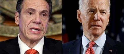 بايدن يدعم التحقيق في اتهام حاكم نيويورك بالاعتداء الجنسي