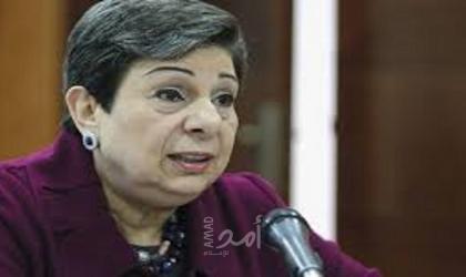 عشراوي تستقبل القنصل العام اليوناني الجديد وتودع ممثل جمهورية قبرص