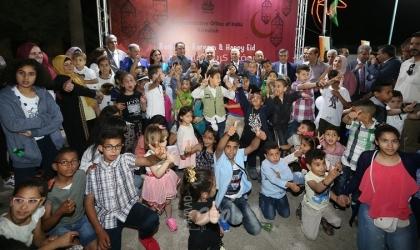أشتية يشارك في الافطار الجماعي لقرى الأطفال SOS في بيت لحم