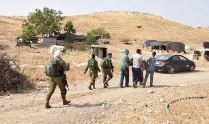قوات الاحتلال تداهم خربة حمصة الفوقا بالأغوار الشمالية