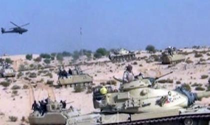 استشهاد 3 جنود مصريين في هجوم على كمين بالعريش ..وإدانة فلسطينية