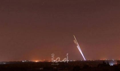 محدث2_ اطلاق 5 صواريخ من قطاع باتجاه البلدات الإسرائيلية.. وقوات الاحتلال تقصف مواقع أمنية لحماس -فيديو
