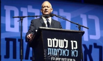 """في أول تعقيب على محاكمة نتنياهو.. غانتس ساخرا: """"مساء حزين على إسرائيل ومواطنيها"""""""