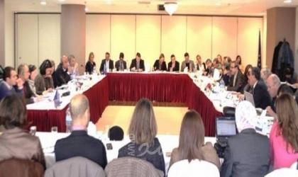 افتتاح اجتماع أعمال اللجنة الفلسطينية الأوروبية المشتركة برام الله