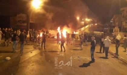 اندلاع مواجهات مع قوات الاحتلال على مدخل النبي صالح شمال رام الله
