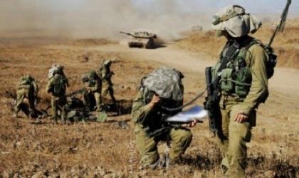 """جيش الاحتلال يبدأ """"الأحد"""" أكبر مناورة عسكرية تحاكي حرباً شاملة"""