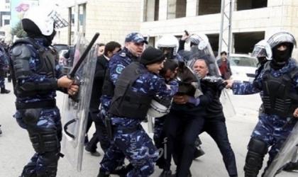 عشرات الإصابات جراء اعتداء شرطة حماس على حفل بخانيونس