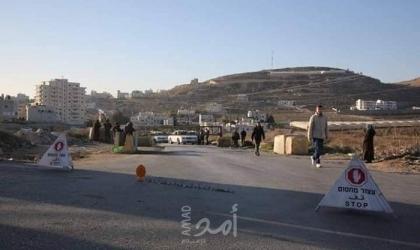 جيش الاحتلال يغلق بوابة عزون