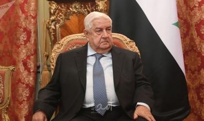 وزير الخارجية السوري يلتقي وفدًا من قادة وممثلي الفصائل الفلسطينية
