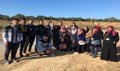"""غزة: جمعية المستقبل للتنمية والبيئة ودائرة نورمان يختتمان مخيم """"هواة الطبيعة 9"""""""