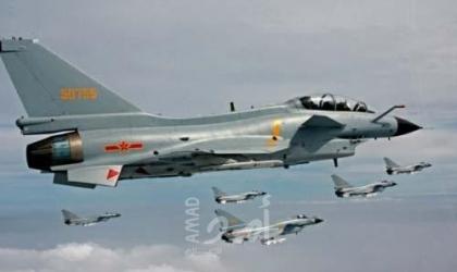 تايوان تحذر 25 طائرة صينية دخلت مجال الدفاع الجوي