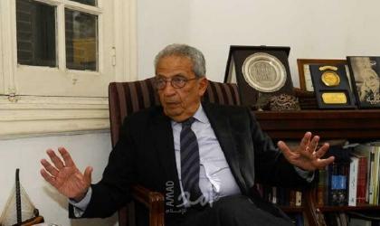 """عمرو موسى: في قبضة «كورونا"""""""