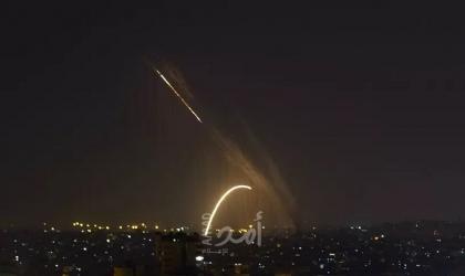 جيش الاحتلال: سقوط صاروخ واعتراض اخر أطلقا من غزة صوب عسقلان - فيديو