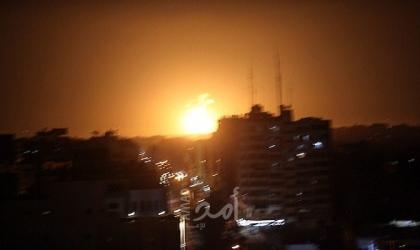 جيش الإحتلال: هذا ما تم استهدافه في قطاع غزة ردًا على صاروخ سديروت