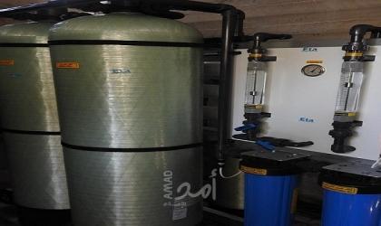 افتتاح محطة تحلية مياه في ترخيص غزة