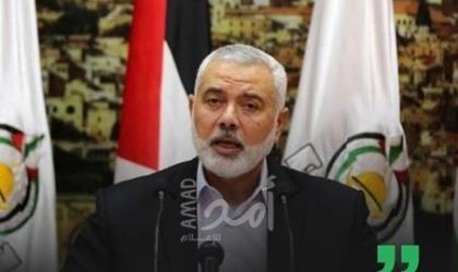 حماس تعلن فوز هنية برئاسة مكتبها والعاروري نائباً له