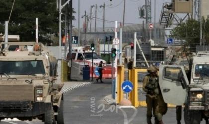 قوات الاحتلال تنصب بوابة على أراضي دير كريمزان غرب بيت لحم