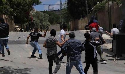 إصابة 3 صحفيين خلال مواجهات مع قوات الاحتلال في كفر قدوم