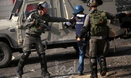 مدى: 12 انتهاكاً ضد الحريات الإعلامية في فلسطين خلال الشهر الماضي