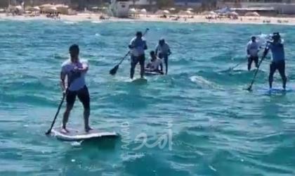 """بالفيديو.. اسرائيليون ينظمون تظاهرة بحرية للمطالبة بإطلاق سراح """"جنود"""" لدى حماس"""