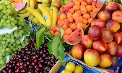 أسعار الخضروات والفواكه في أسواق غزة