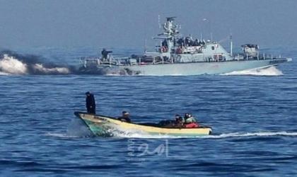 بحرية الاحتلال تطلق الرصاص على مراكب الصيادين قبالة بحر مدينة غزة