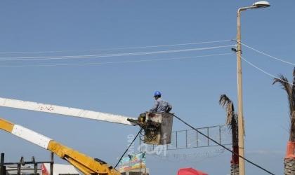 كهرباء غزة تُعلن فصل الخط المغذي لمحافظة الوسطى