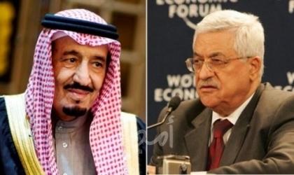 اتصال بين عباس والملك سلمان لبحث آخر التطورات على الساحة الفلسطينية