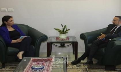 عوض تستقبل القنصل العام الايطالي لبحث لبحث سبل تعزيز التعاون المشترك بين الطرفين