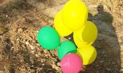 اطلاق بالونات مفخخة من شمال القطاع تجاه البلدات الإسرائيلية