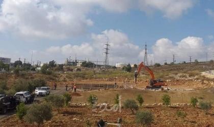 محدث - سلطات الاحتلال تهدم عريشين زراعيين في بلدة الخضر وهدم اخر في القدس