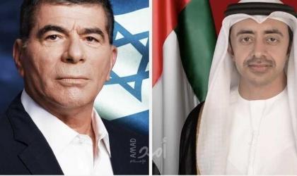 """وزيرا خارجية الإمارات وإسرائيل يجريان مكالمة هاتفية"""" دشنا خطوط الاتصال"""