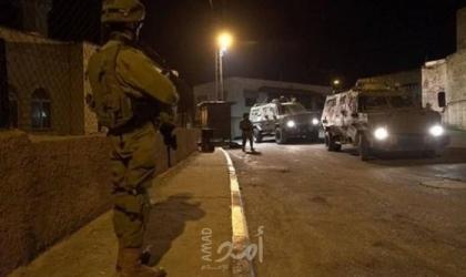 قوات الاحتلال تعتقل شابًا من بلدة قباطية